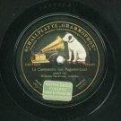 Wilhelm Backhaus Liszt Grammophon 45515 Record 78 rpm