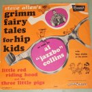 """Grimm Fairy Tales For Hip Kids Al """"Jazzbo"""" Collins 78 rpm Record"""