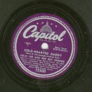 Julia Lee - Living Back Street For You - CAPITOL 15300 - Blues 78 rpm Record