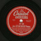 Julia Lee - My Sin / Doubtful Blues - CAPITOL 40056 - 78 rpm Blues Record