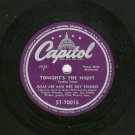 Julia Lee - After Hour Waltz / Tonight's The Night - CAPITOL 70013- 78 rpm Blues Record