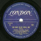 Beryl Davis - Don't You Know That I Care - LONDON 101 - 78 rpm Record