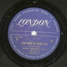 Anne Shelton - How Deep Is The Ocean - LONDON 109 - 78 rpm Record