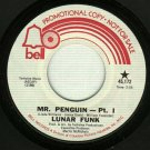 Lunar Funk - Mr. Penguin - 45 rpm Soul Record PROMO