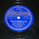 Dolly Dawn As Long As We're Together 78 rpm Jazz Record