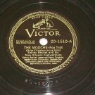 Sidney Bechet The Mooche VICTOR 1510 78 rpm Jazz Record