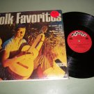 Folk Favorites Raun MacKinnon Wyncote 9010 Record LP