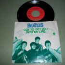 The Beatles - Got To Get You Into My Life - 45 rpm w/ Pic Slv  Record