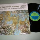 The Poetry Of Thomas Hardy - Read by Richard Burton - Record LP
