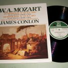 Mozart Symphony No. 40 / 25 James Conlon ERATO LP Record LP