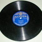 Lou Raderman / Missouri Jazz Band - BANNER 7135 - 78 rpm Record