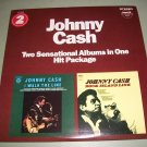 Johnny Cash - Two Albums In One - PICKWICK PTP2045 - 2 Records LP