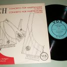 Bach - Helma Elsner - Rolf Reinhardt - VOX PL 9510 Record  LP