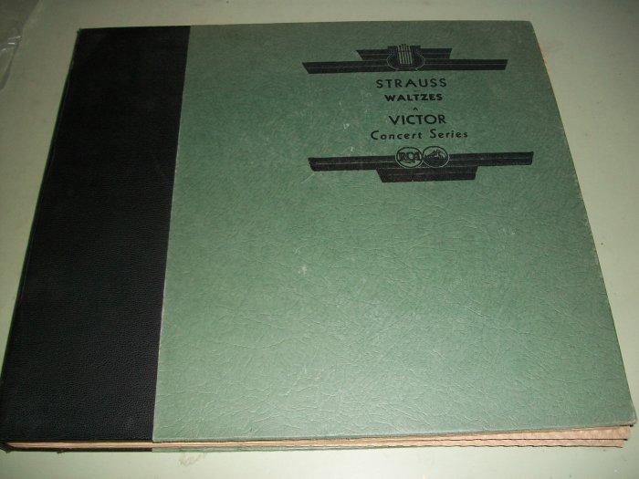 Strauss Waltzes - Clemens Krauss - 78 rpm - 5 Record Set