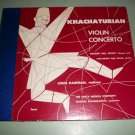 Khachaturian Violin Concerto Louis Kaufman 78 rpm - Record