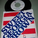 Harlem Globetrotters - Brother Bones - Sweet Georgia Brown - 45 rpm Record