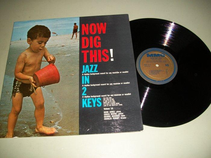 Now Dig This - Hank Jones - Jazz Rhythm Background Record LP