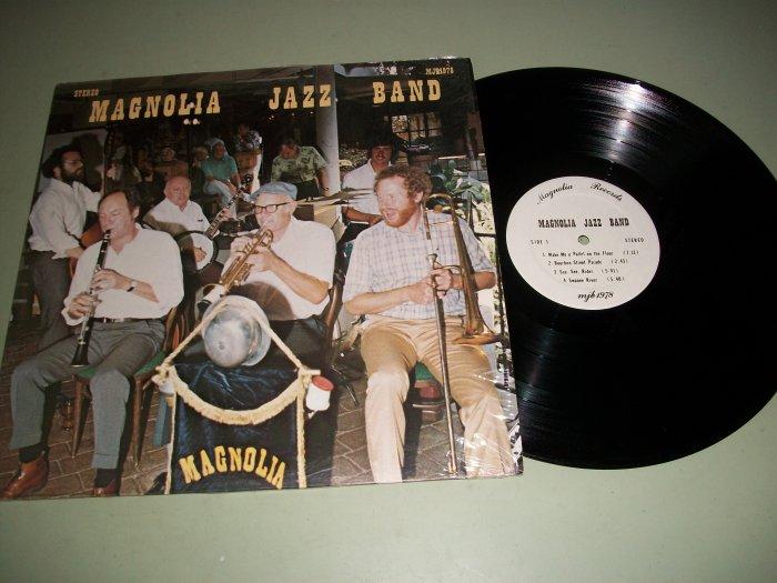 Magnolia Jazz Band - MJB 1978 - Rare Jazz Record LP