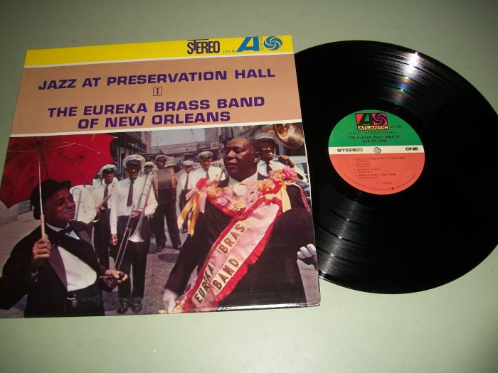 The Eureka Brass Band - Jazz At Preservation Hall - Record LP
