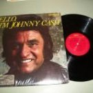 Hello, I'm Johnny Cash Country Record LP
