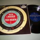 Ted Heath - Hits I Missed - LONDON PS 116 - Blue Back Record LP