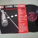 Living Presence Sampler   MERCURY OLD-6  Classical Record LP