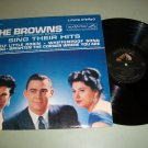 The Browns Sing Their Hits - RCA LSP-2260 - Record LP
