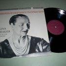 Gina Bachauer - Chopin / Liszt / Brahms Piano Record LP