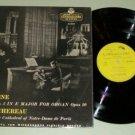 Louis Vierne Symphony No. 2 - L'OISEAU-LYRE 50103 - Record LP