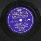 Bidu Sayao - Ah Fors Lui - Erich Leinsdorf - 78 rpm Record