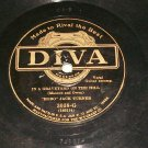 """Hobo"" Jack Turner - Only A Bum - DIVA 3038 - 78 rpm"