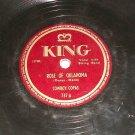 Cowboy Copas - Rose Of Oklahoma - KING 737  - 78 rpm