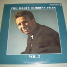 The Marty Robbins Files - Vol. 2 - German Pressing - CBS 15096