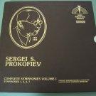 Sergei S. Prokofiev - Complete Symphonies Vol. 1 - 3 LP Box Set MHS 3930 / 32