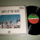 Roots Of The Blues - Alan Lomax Folk Heritage Record LP