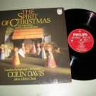 The Spirit Of Christmas - Colin Davis Holiday - Record LP