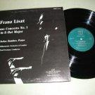 Franz Liszt Piano Concerto No.1 - Nicholas Zumbro Record LP