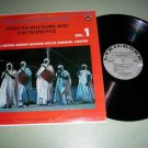 African Rhythms And Instruments - Record LP