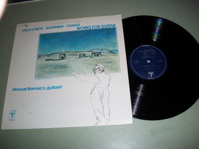 Manuel Barrueco - Works For Guitar - Record LP