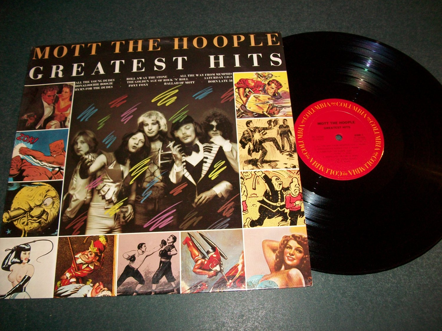 Mott The Hoople Greatest Hits  - Record LP