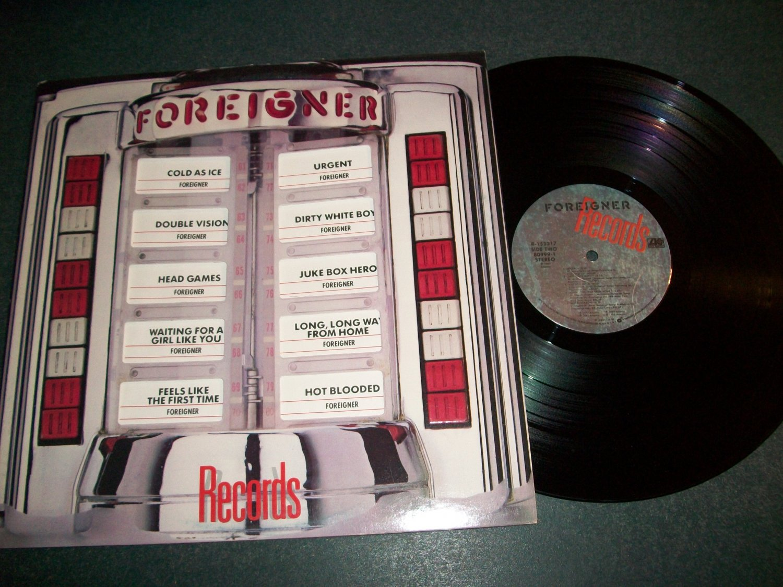 Foreigner - Records - ATLANTIC 80999-1  - Record LP