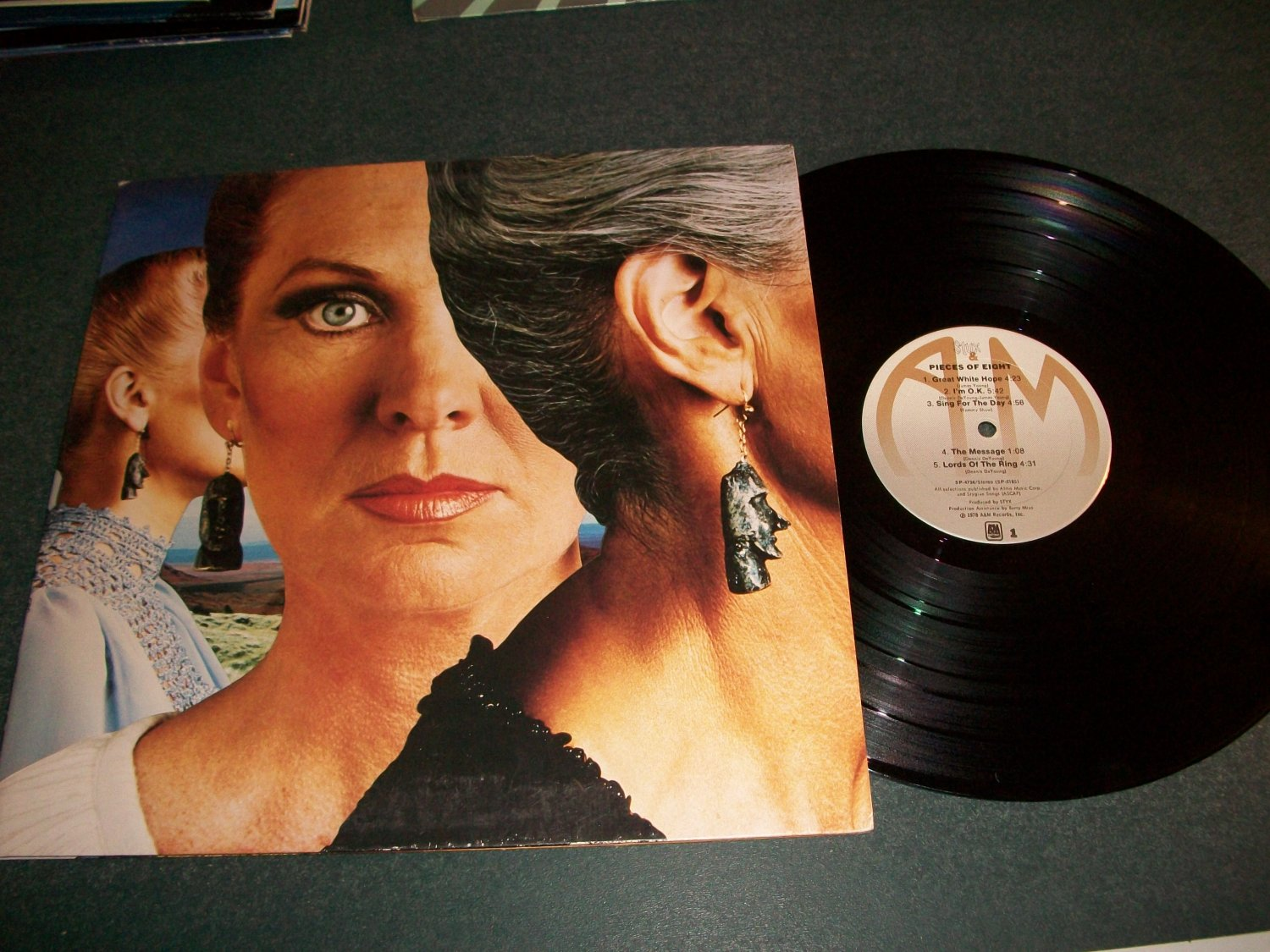 Styx - Pieces Of Eight - Record LP