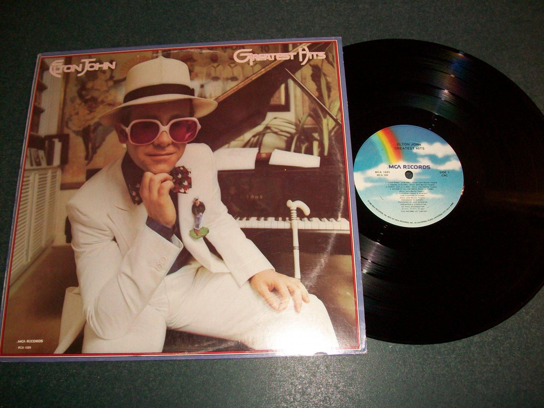 Elton John Greatest Hits  - Record LP