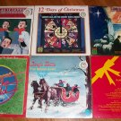 Lot Of 6 Christmas Records Factory Sealed NEW