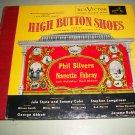 High Button Shoes - Phil Silvers Original Cast - 4 Record Album Set  78 rpm