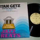 Stan Getz - Cool Jazz - Hall Of Fame -  Jazz Record LP