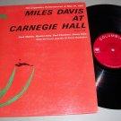 Miles Davis At Carnegie Hall - COLUMBIA 1812 -  Jazz Record LP