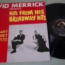 John Gary  Ann-Margret - Merrick Hits From His Broadway Hits -  Record LP