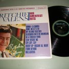 Ritchie Valens His Greatest Hits - DEL-FI 1225 - Rock  Record LP