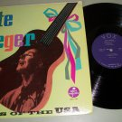Pete Seeger - Live Concert Songs Of The USA  -  Folk  Record